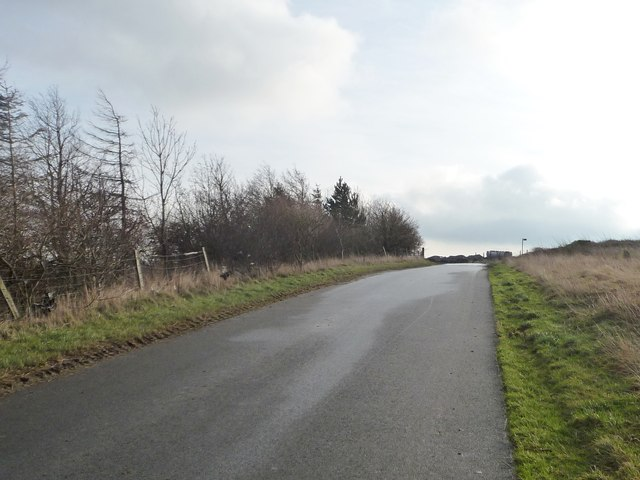 Whitley Road at Whitley Height