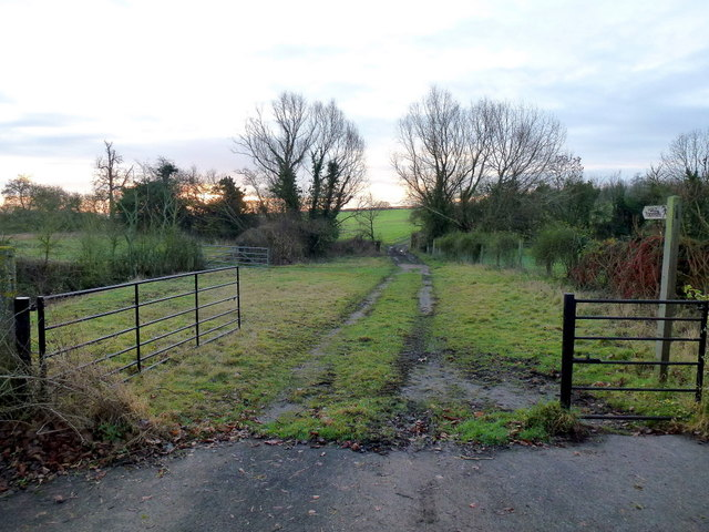 Track and footpath