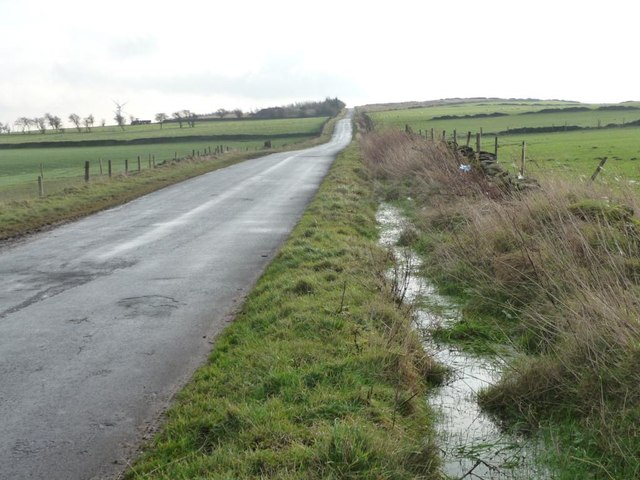 Drainage ditch along Whitley Road