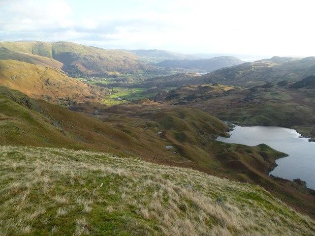 Ascending Tarn Crag