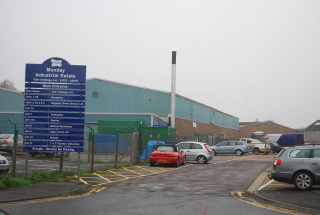 Munday Industrial Estate