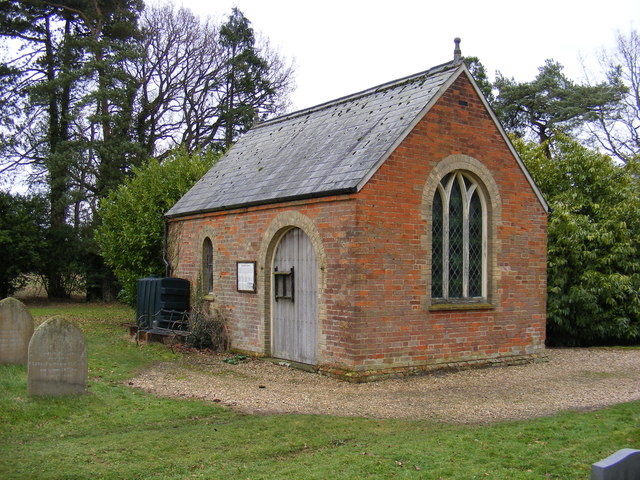 The Chapel at Stradbroke Cemetery