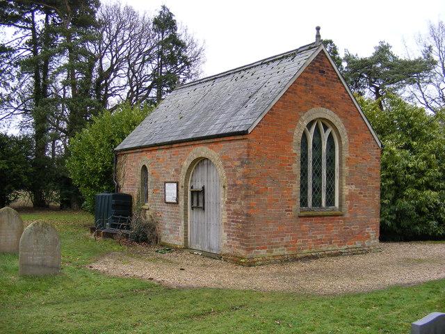 The Chapel at Stradbroke Cemetery