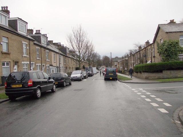 Lytton Road - looking towards West Park Road