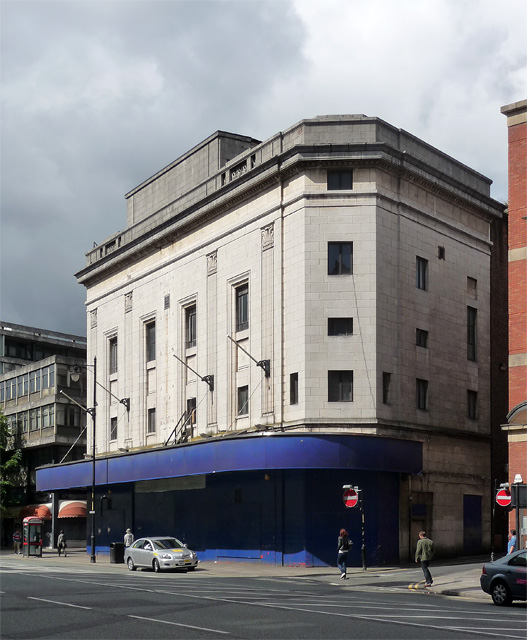 Former Odeon, Oxford Street, Manchester