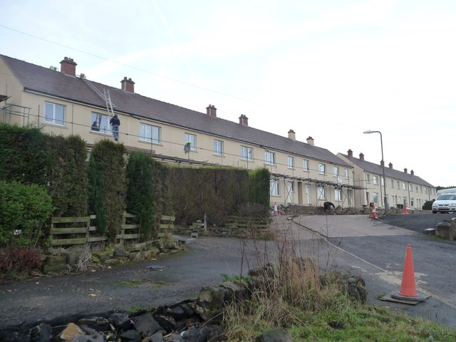 Building work at Sledbrook Crescent