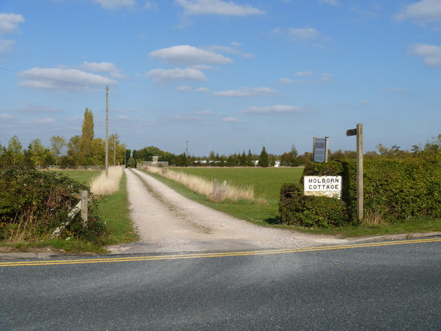 Cottage drive and footpath