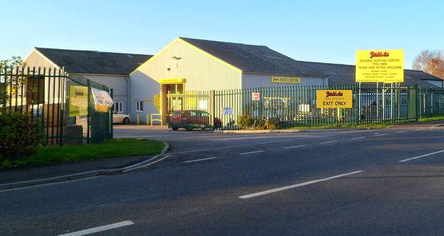 Bradford's building supply centre, Trowbridge