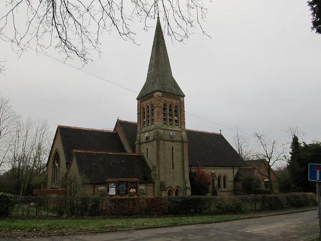 Christ Church, South Nutfield, Surrey