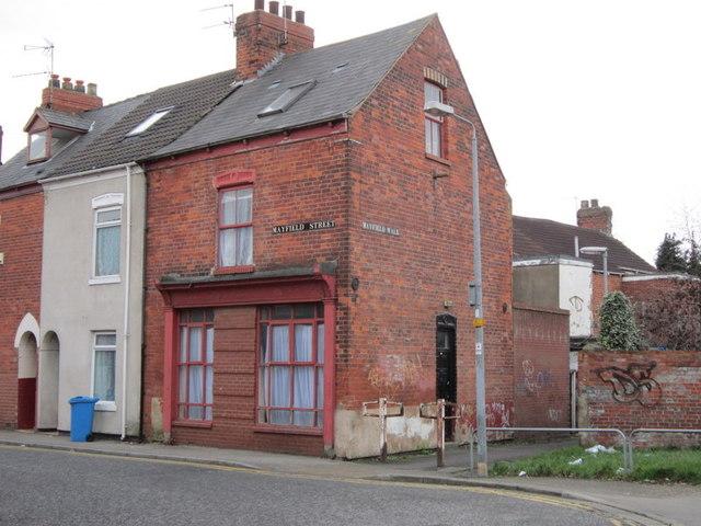 A former corner shop?