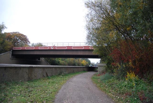 Railway Bridge over the Blackwater Valley Path