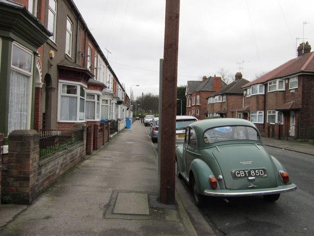 Duesbery Street off Princess Avenue, Hull