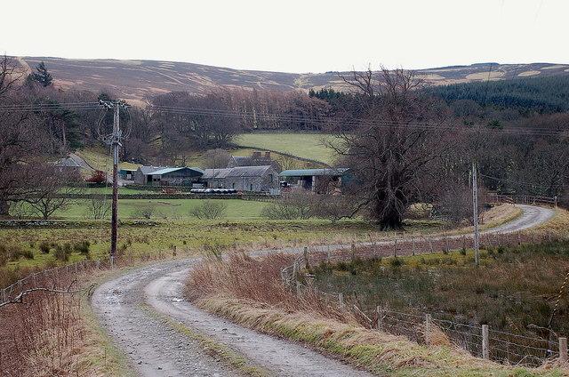 Dawyck Mill farm, Stobo