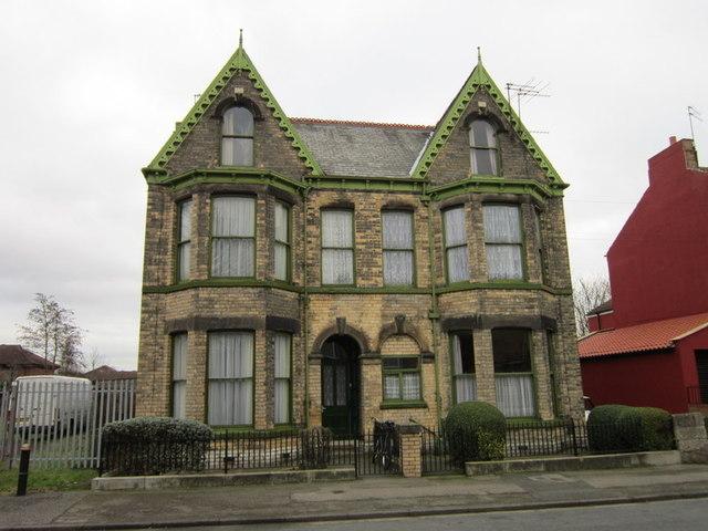 An house on Berkeley Street, Hull