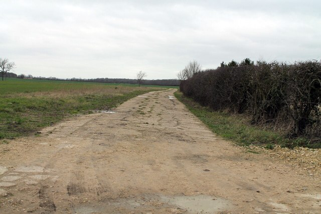 Farm Track near Manor Farm