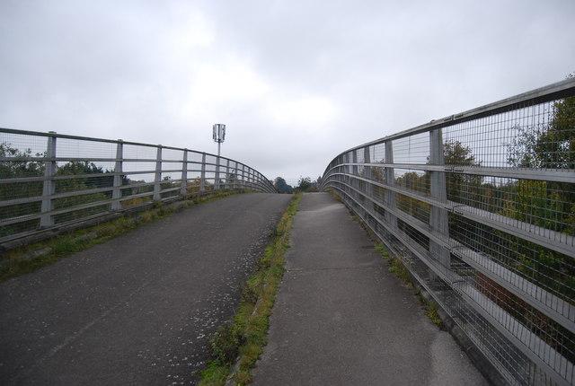 Footbridge over the A331