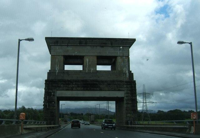 South-eastern bridge pillar