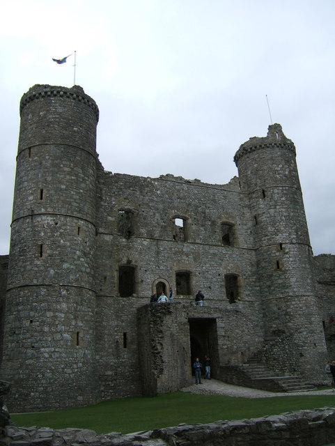 Gatehouse of Harlech Castle
