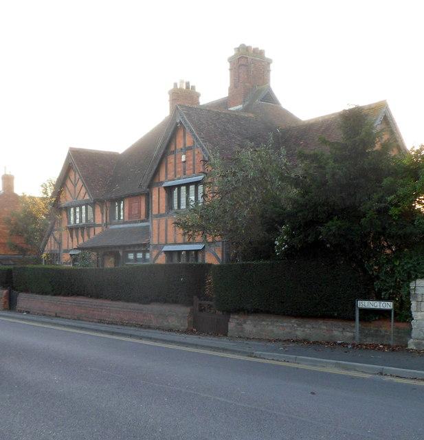 Grade II listed Palmers Almshouses, Trowbridge