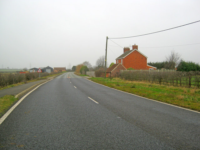 The Fosse Way at Brough