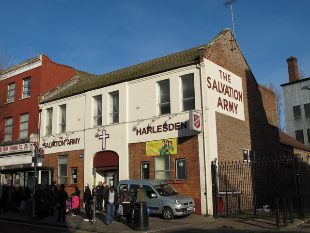 The Salvation Army, Manor Park Road (A404), NW10