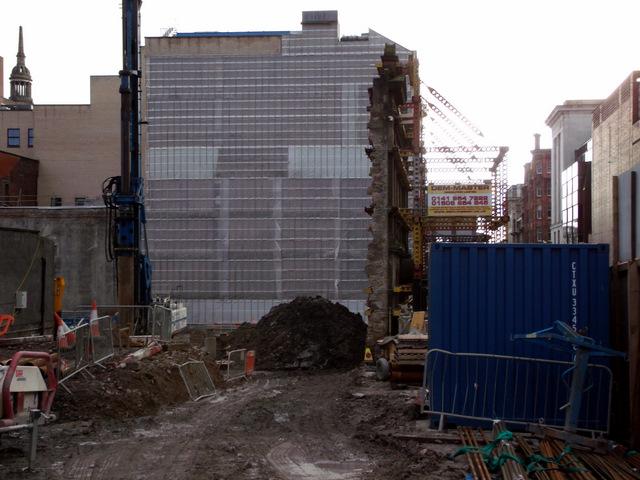 Building site at Bath Street