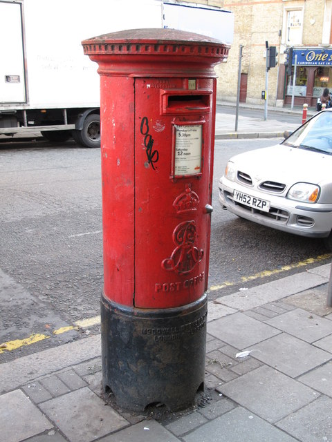 Edward VII postbox, Craven Park Road, NW10