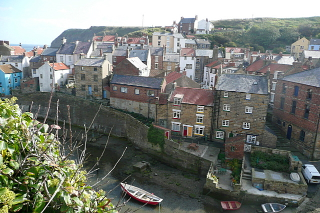 Staithes from Cowbar Bank