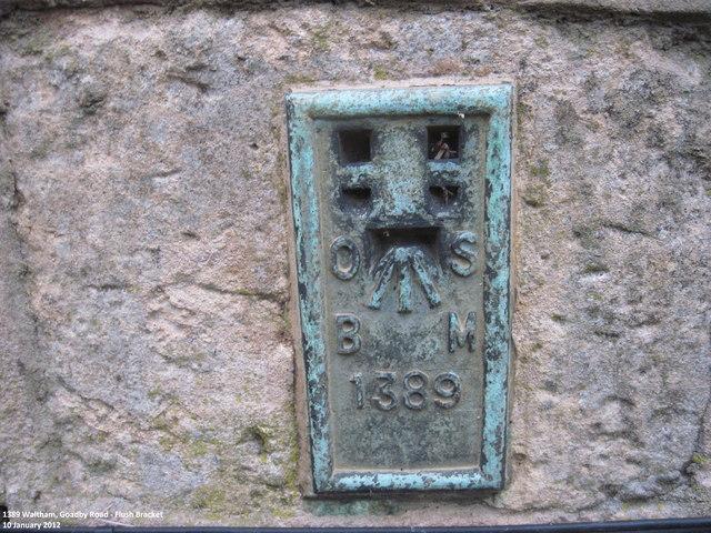 Ordnance Survey Flush Bracket 1389