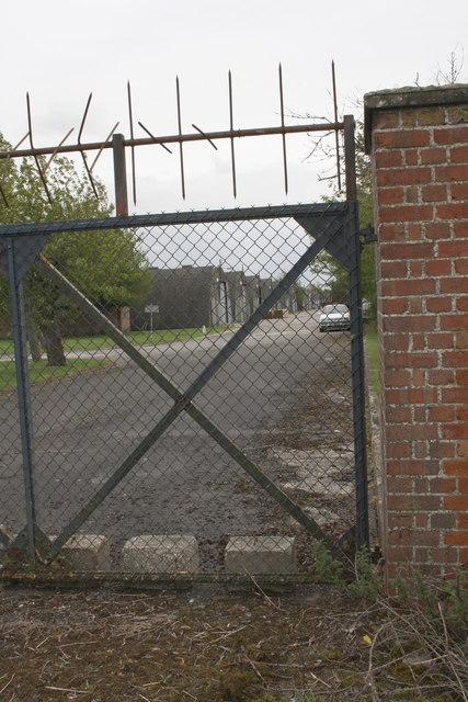 Entrance gateway at Steventon Storage Facility