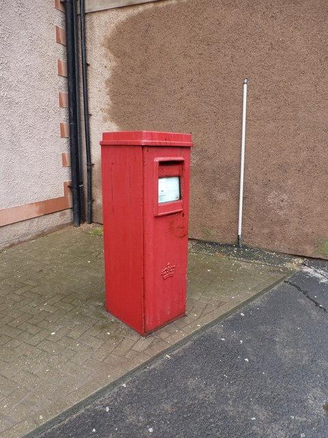 Eyemouth: postbox № TD14 43