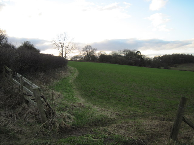Over  field  to  Stone  Flint  Wood