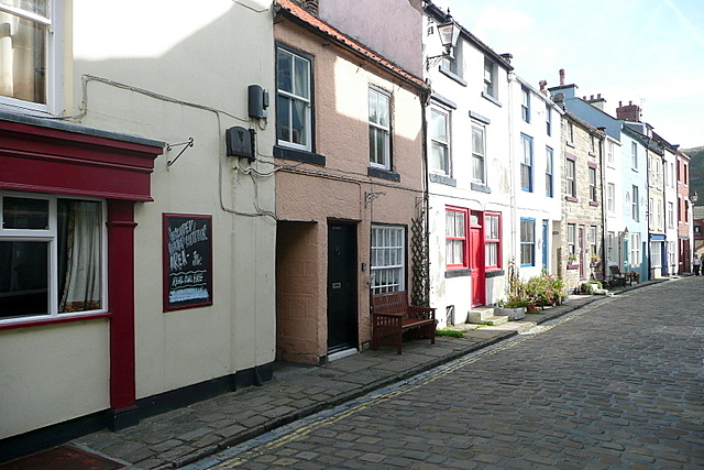 Staithes High Street