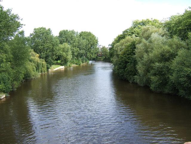 River Severn in Shrewsbury
