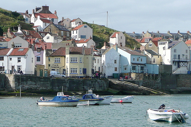 Staithes from the eastern breakwater