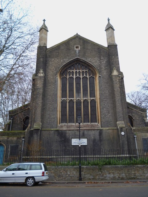 Rear, Celestrial Church of Christ, Cloudesley Square N1