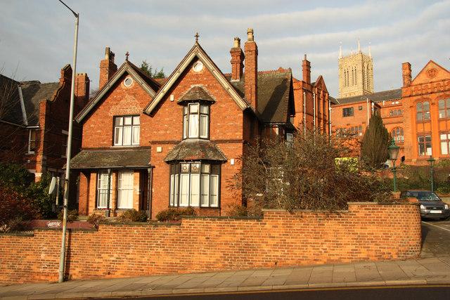 Victorian house on Lindum Road
