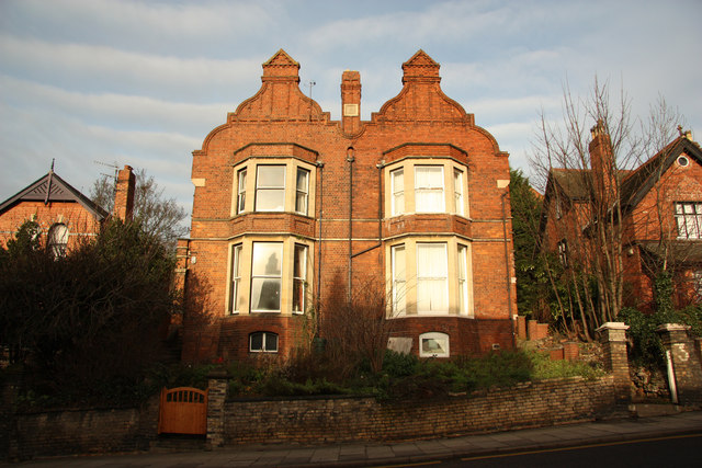 Victorian houses on Lindum Road