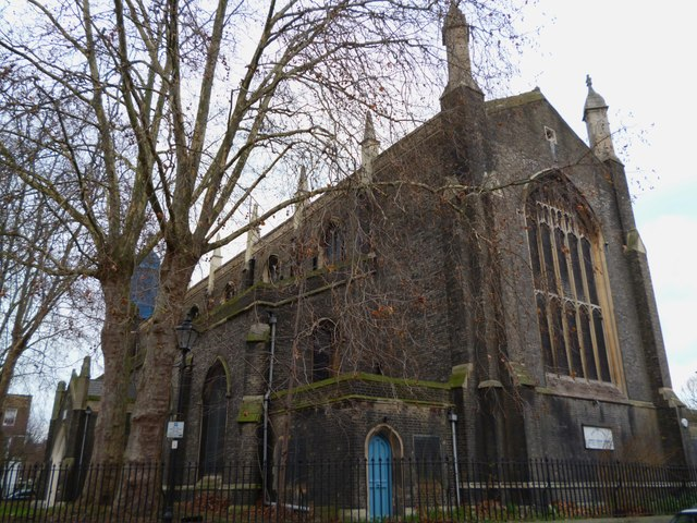 The former Holy Trinity Church, Cloudesley Square N1
