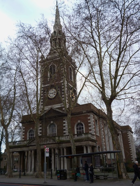 St Mary's Church, Upper Street N1