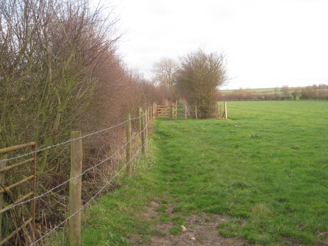 The bridleway to Clayworth Woodhouse