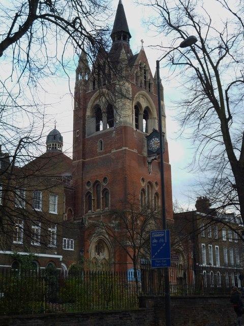 Union Chapel tower, Upper Street N1