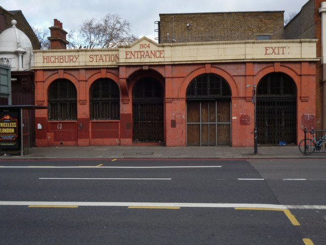 Highbury Station, Holloway Road N5