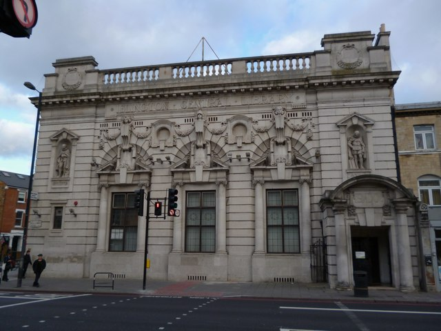 Central Library, Holloway Road N5