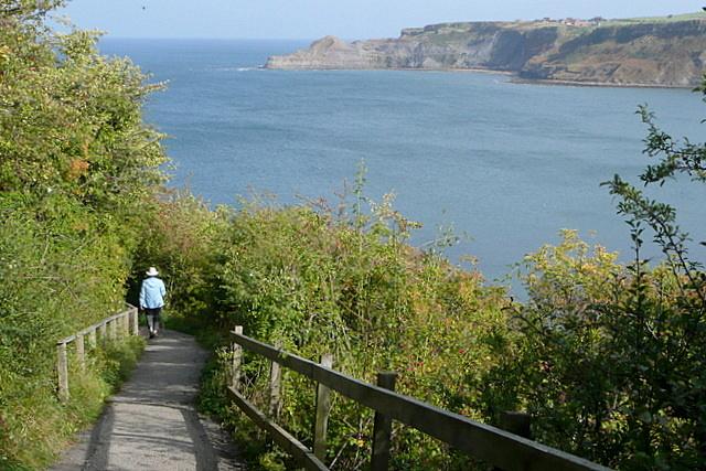 Path to Runswick Bay