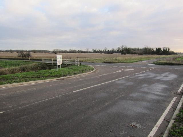 Private road off College Road