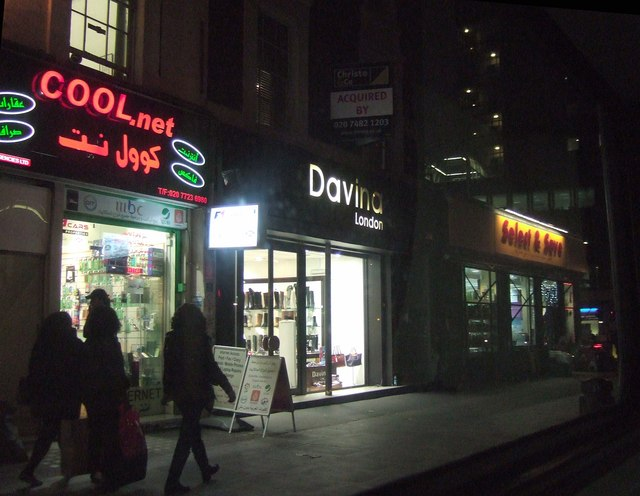 Shops on Edgware Road