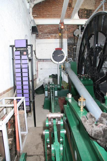 Pleasley Colliery - winding engine
