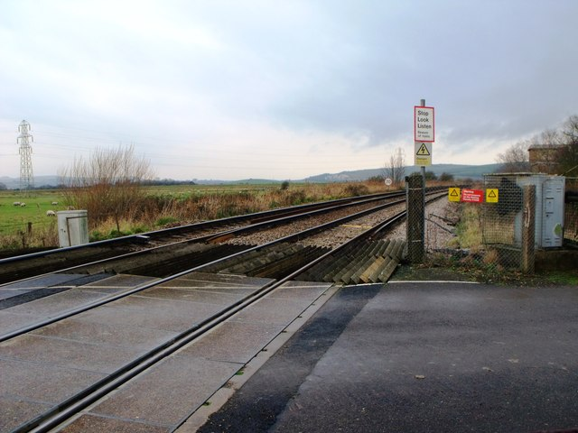 Level crossing at Southease