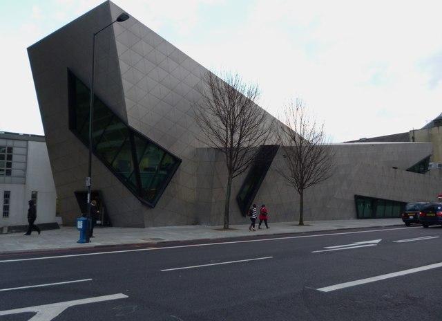 Entrance to London Metropolitan University, Holloway Road N7